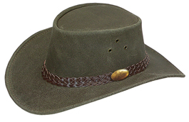 Wallaroo Oil Hat by Jacaru